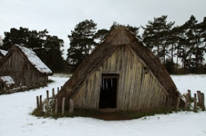 Anglo Saxon farmstead
